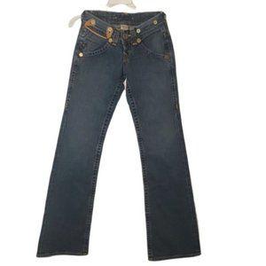 TRUE RELIGION blue Ella bootcut jeans size 23